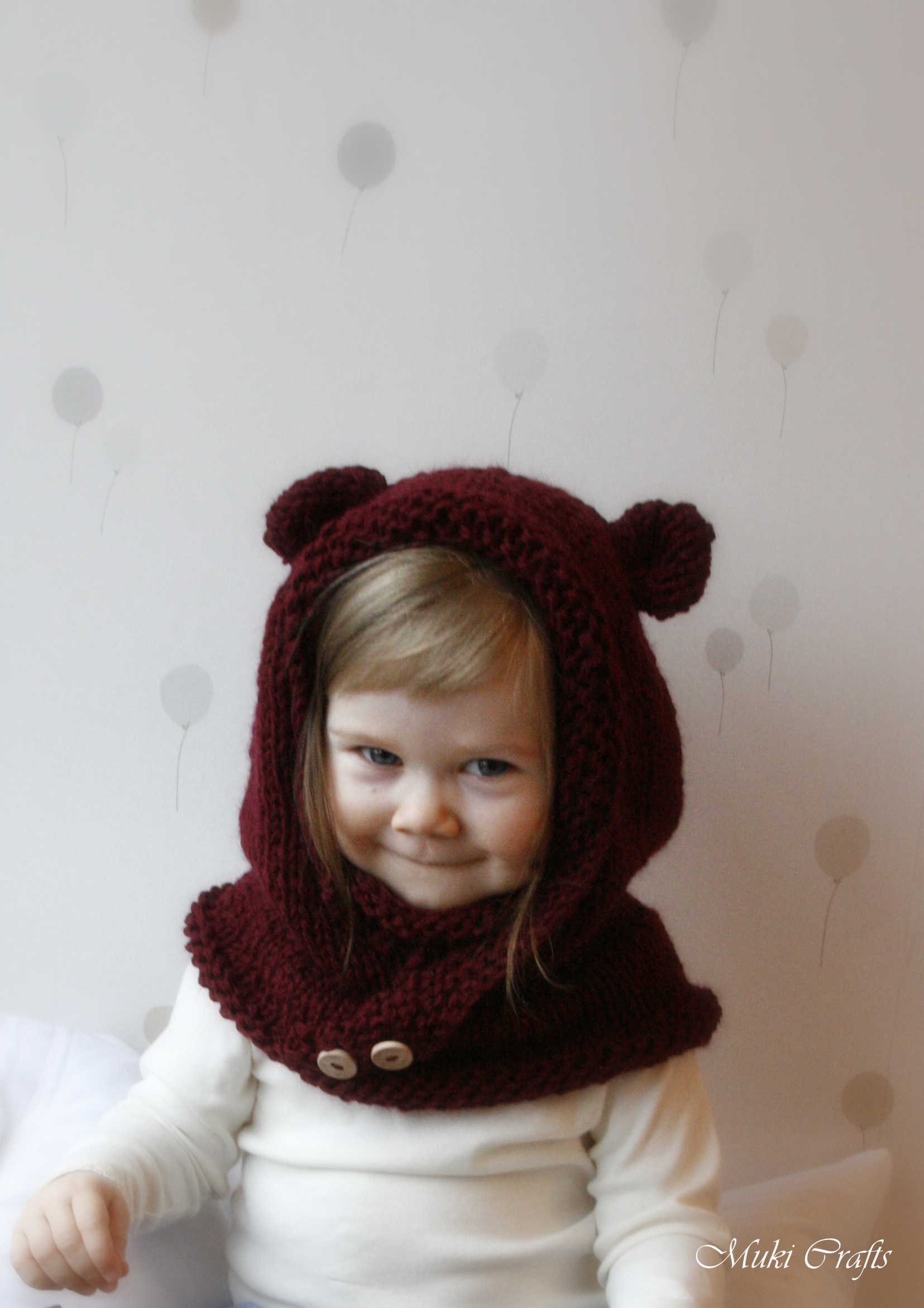 Knitted Cowl Pattern For Toddler : KNITTING PATTERN Hood Cowl Rowan (baby, Toddler, Child, Adult Sizes) on Luulla